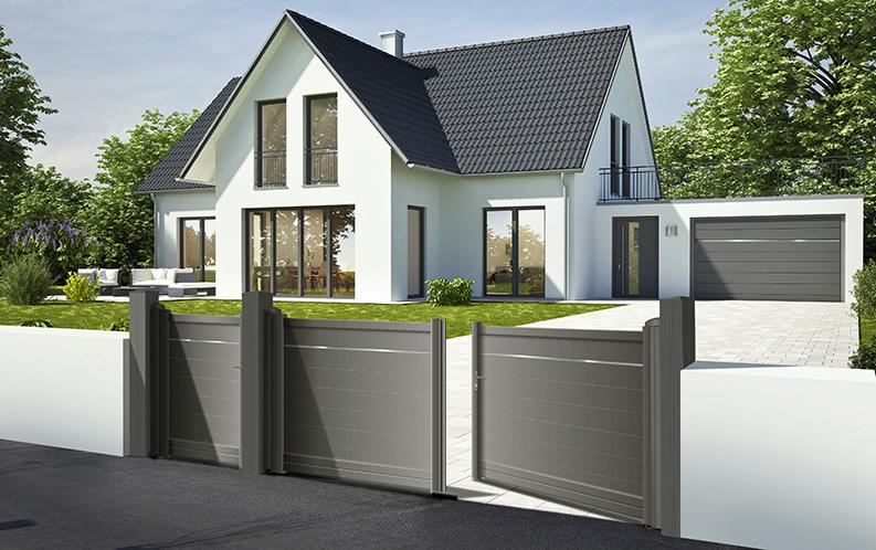 Portail, portillon et porte de garage