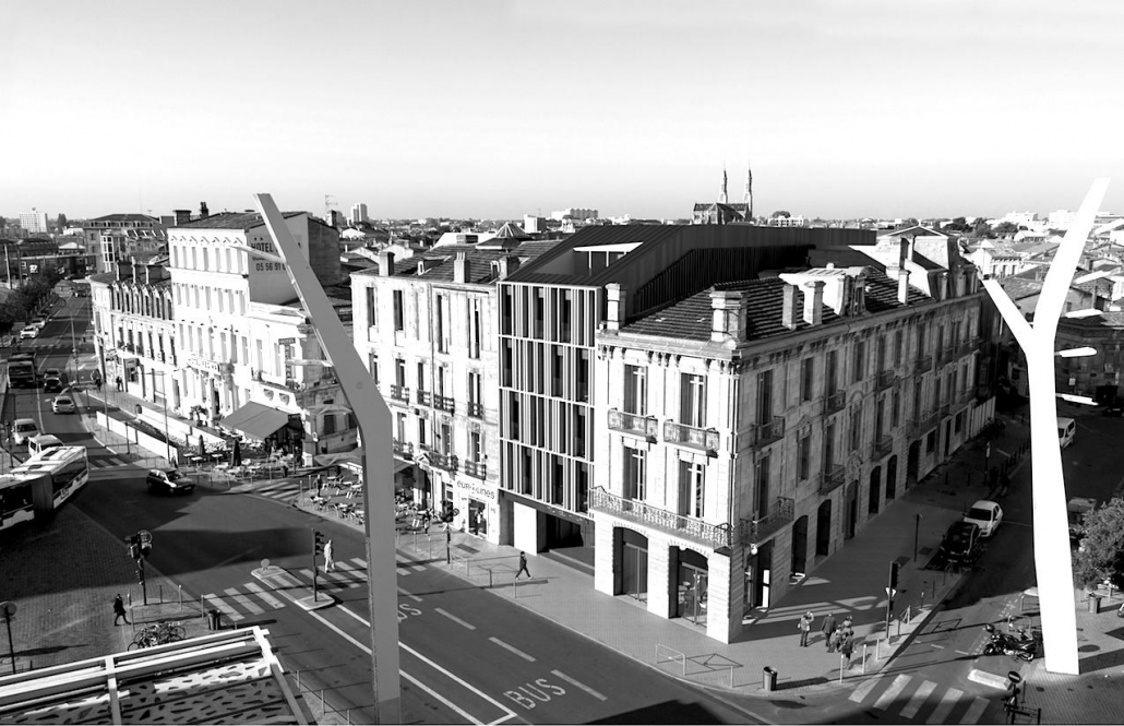 Rénovation Hôtel Atlantic Bordeaux